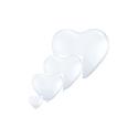 Ballons forme de coeurs 3' 86 cm