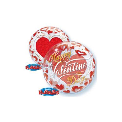 Ballons valentine red 22''