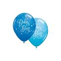 Ballons baby boy bleu 11''