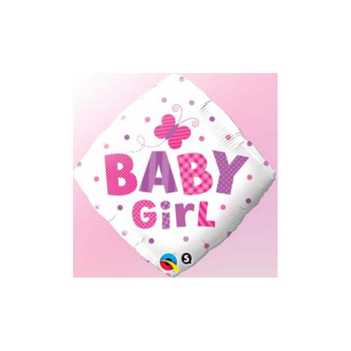 Ballons baby girl rv 18''