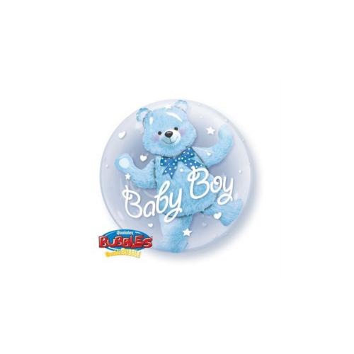 Ballons baby bleu bear 24''