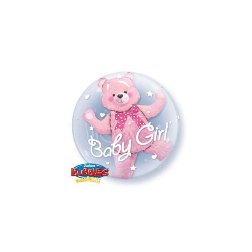 Ballons baby pink bear 24''