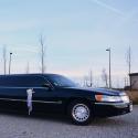 Limousine Lincoln noir