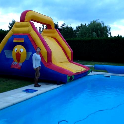 Toboggan piscine
