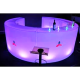 Pack bar rond led 6/6